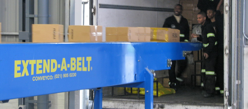 Extend-A-Belt® Telescopic Belt Conveyors 1