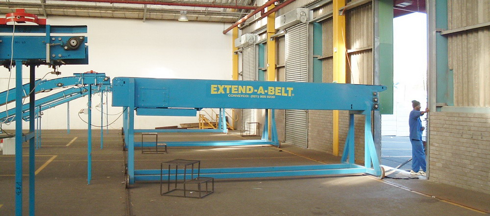 Extend-A-Belt® Telescopic Belt Conveyors 2