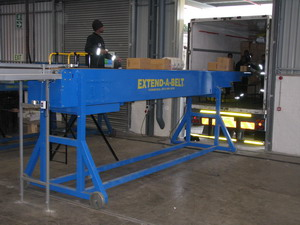 Extend-A-Belt® Telescopic Belt Conveyors