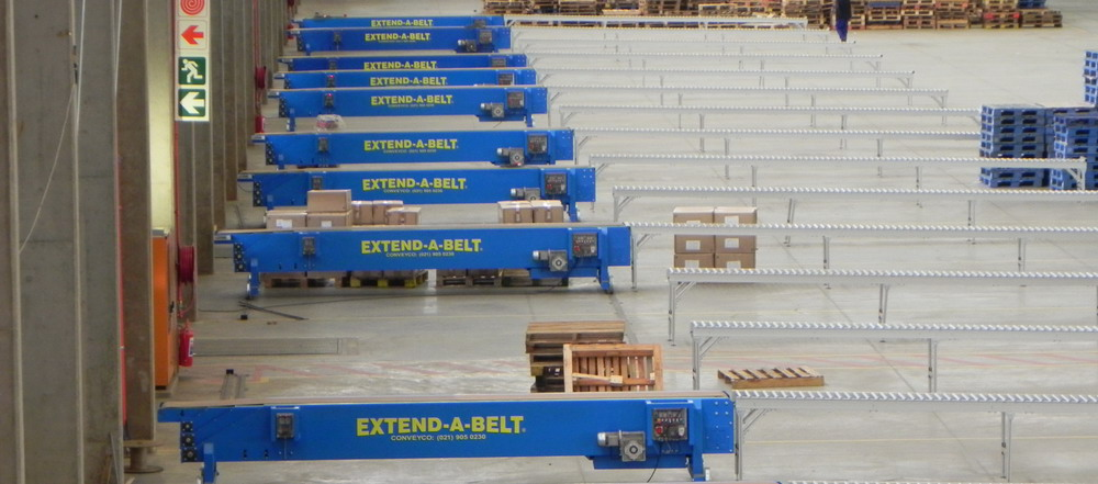 Extend-a-belt Conveyors