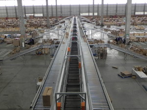 Zero Pressure Accumulations Conveyors with MDR